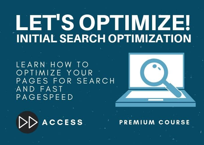 SEO Initial Optimization